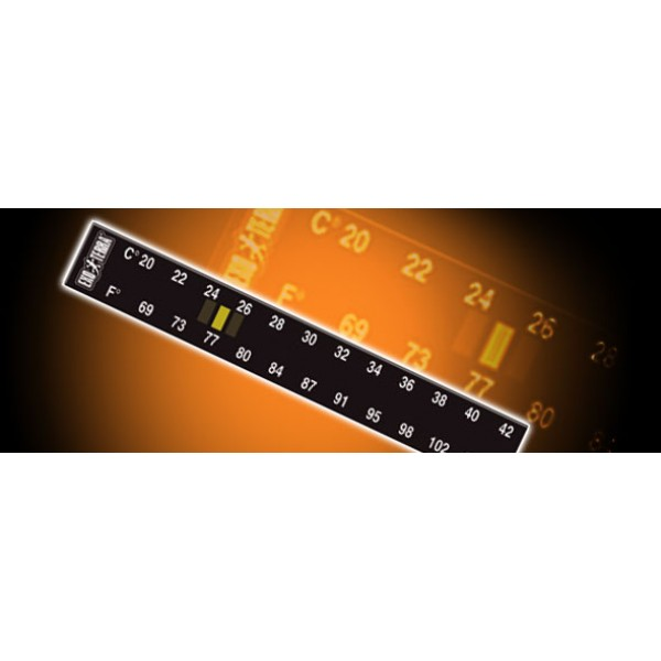 LIQUID CRYSTAL THERMOMETER - termometras