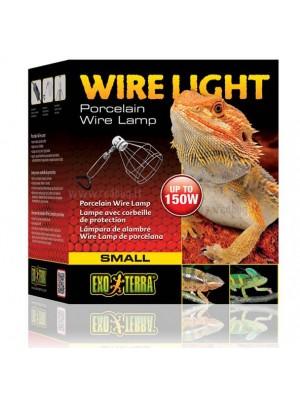 Metalinis lempos gaubtas Wire Light