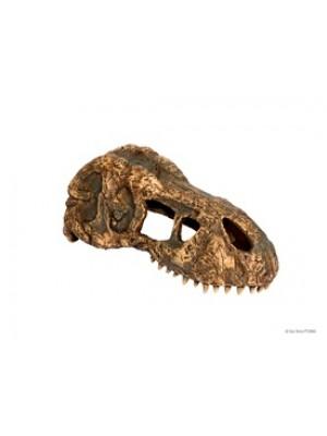 T-Rex dinozauro kaukolės dekoracija, 15.24 x 6.35 x 6.35 cm