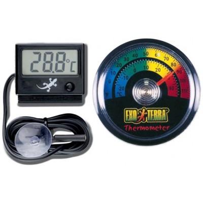 Termometrai, higrometrai (drėgmės matuokliai)