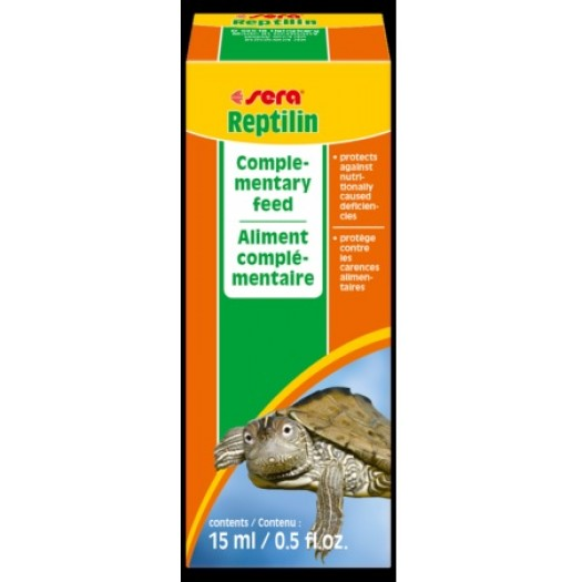 SERA REPTILIN VITAMINS, 15 ml