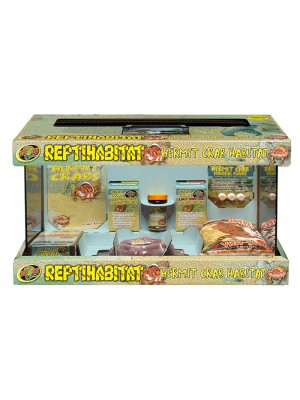 43l ReptiHabitat Hermit Crab Kit – Rinkinys krabams atsiskyrėliams 52x27x30 cm.