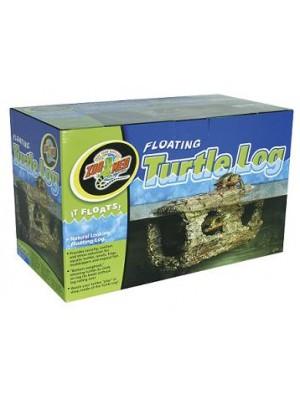 Floating Turtle Log – pludūriuojantis vėžlių rąstas