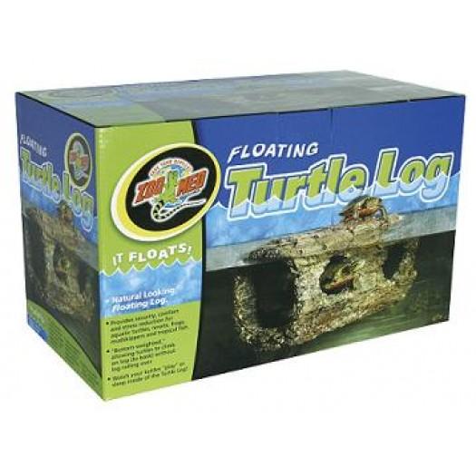 Floating Turtle Log – pludūriuojantis vėžlių rąstas, 31.12x16.26x13.21 cm
