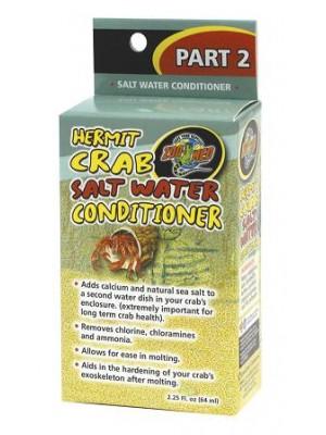 Hermit Crab Salt Water Conditioner – sūraus vandens kondicionierius, 64 ml