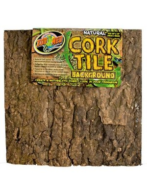 Natural Cork Tile Background - natūralus kamštinis miško fonas 30x30 cm