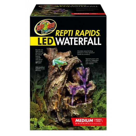 Repti Rapids LED Waterfall – Medium Wood- medinis krioklys su LED