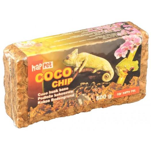 Kokosų lukštai Coco chip, 500 g.