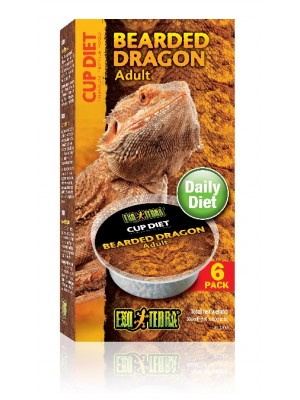 Barzdotojo drakono maistas, 360 g. (6 x 60 g.)