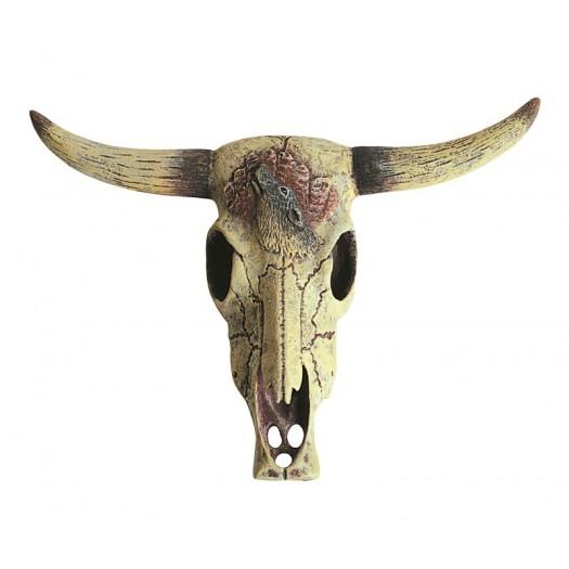 Jaučio kaukolės dekoracija, 12 cm