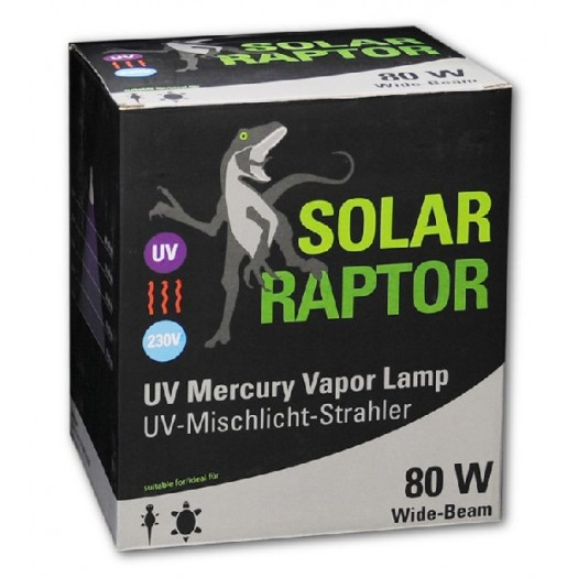 Solar Raptor MVL UV-A+B 80W PAR38 lempa