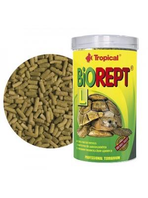 Tropical BIOREPT L maistas sausumos vėžliams, 140 g (500 ml)