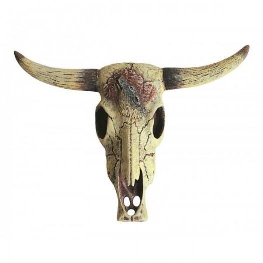 """Dekoracija """"Jaučio kaukolė"""", 8x11.5 cm"""