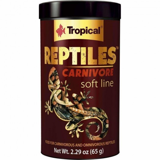 TROPICAL REPTILES CARNIVORE soft line, 65 g