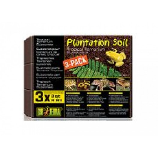 Plantacijų žemė, 3 x 8.8 l.