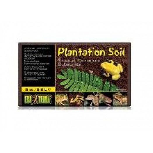 Plantacijų žemė Plantation Soil