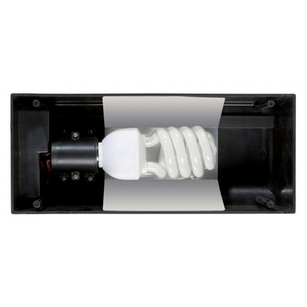 Fluorescentinis pailgas terariumo gaubtas, 30cm