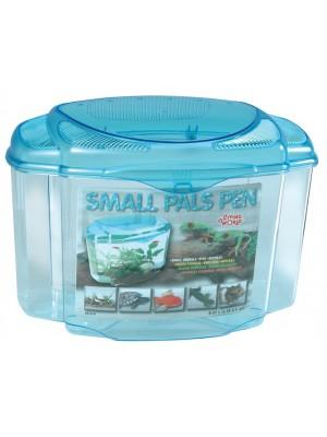 Plastmasinis terariumas/akvariumas Small Pals Pen (12.57l)