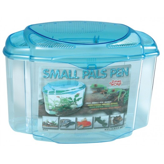 Plastmasinis terariumas/akvariumas 17,4 L. Small Pals Pen