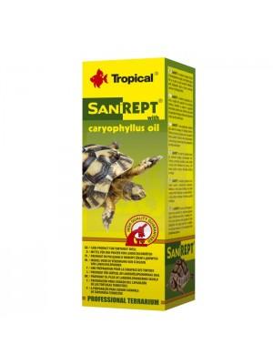 Tropical Sanirept vitaminai sausumos vėžlių kiautui su gvazdikėlių aliejumi, 15ml